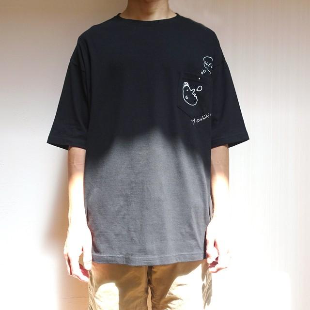 """【名入れ可】オーバーサイズのメンズTシャツ """"sleep"""" オリーブorブラック S~XL ビッグシルエット"""