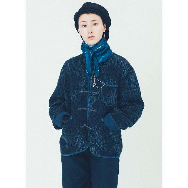 PC SASHIKO ORIGINAL  CHINESE JACKET WATCH CHAIN ITEM