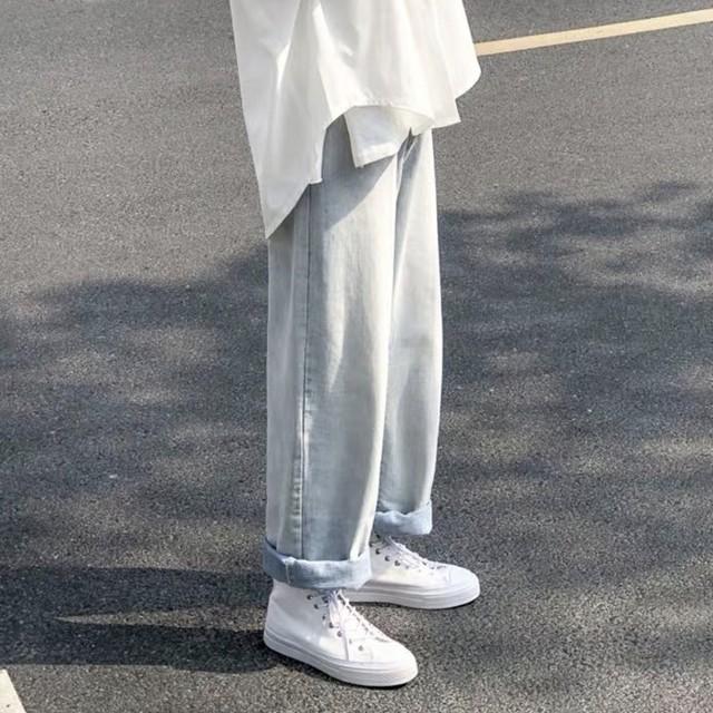 wide denim pants PD1450