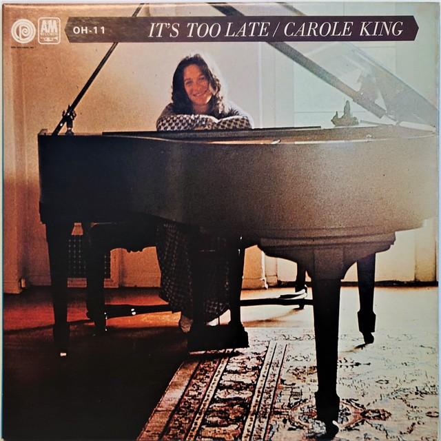 [中古7inch]  Carole King – It's Too Late