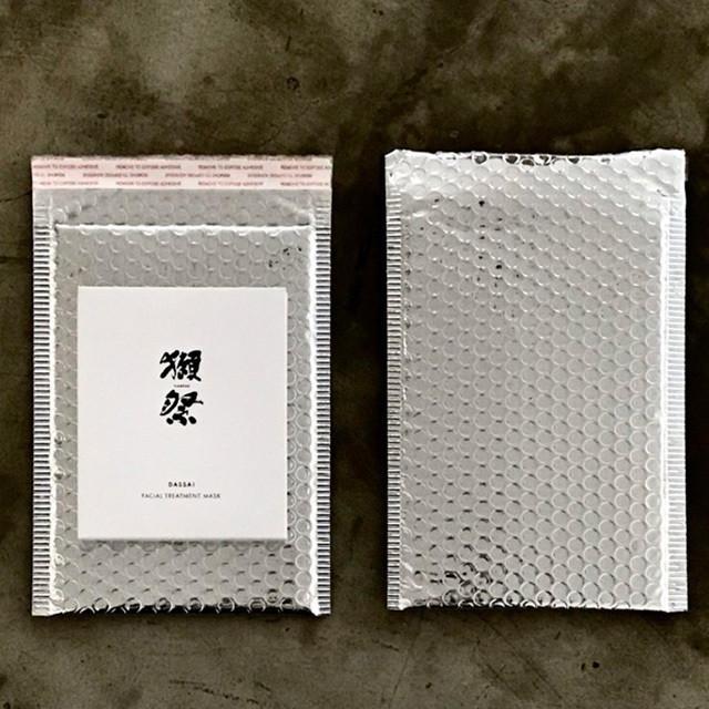 ギフト用クッション封筒(シルバー) GIFT BAG(envelope)