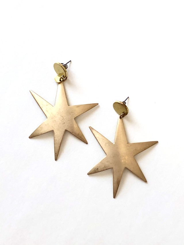 【TAMARI】Sparkling star pierce / earring