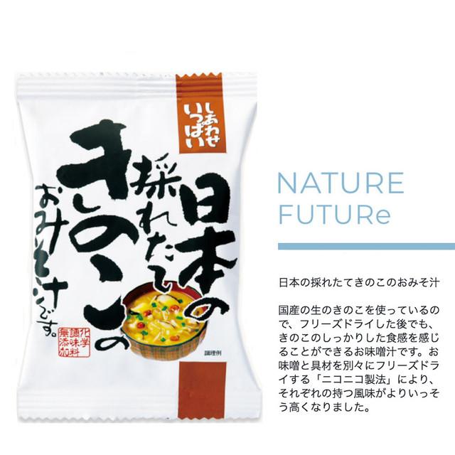 NATURE FUTURe ごぼうがいっぱい入った豚汁