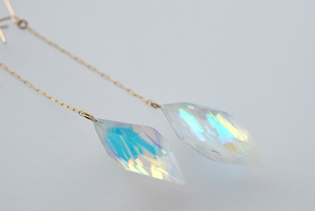 LilyBell opal ピアス⇄イヤリング