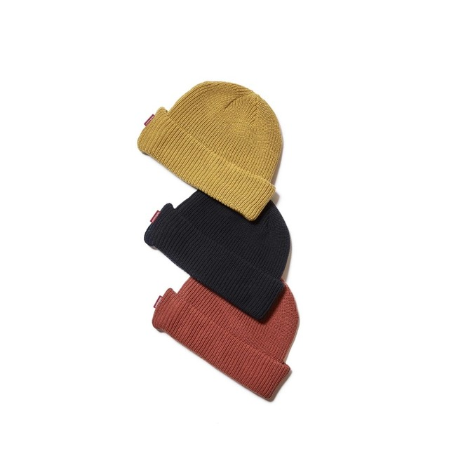 【HELLRAZOR】SOLID COTTON BEANIE