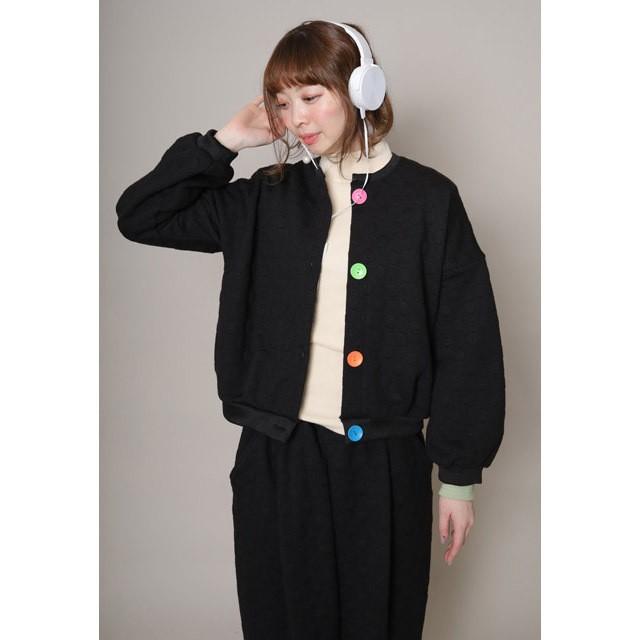 【unica】213-0553 ぽこぽこドットカーディガン M(160㎝)
