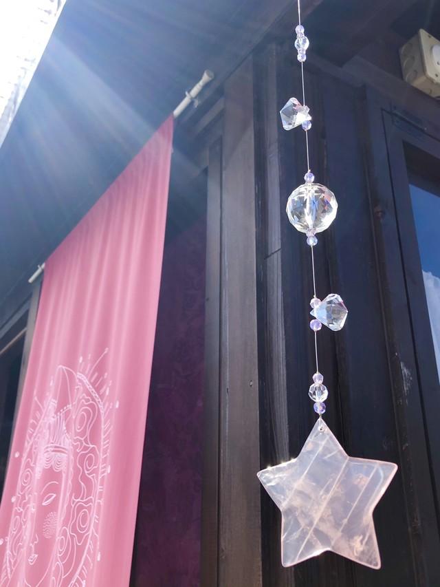 【ピンク祭り】プレミアムサンキャッチャー『LOVE STARS』
