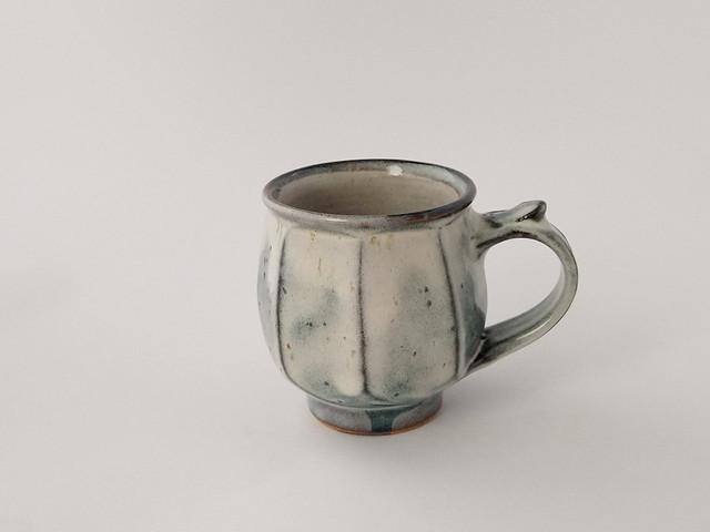 モーニングカップ 海鼠釉 A 【湯町窯】