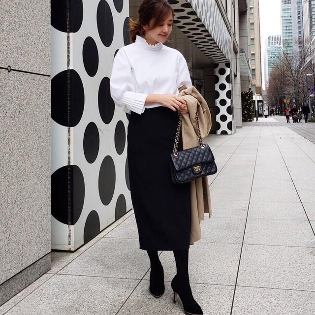 KU-UM×R.Y.C ラップリボンスカート オフホワイト