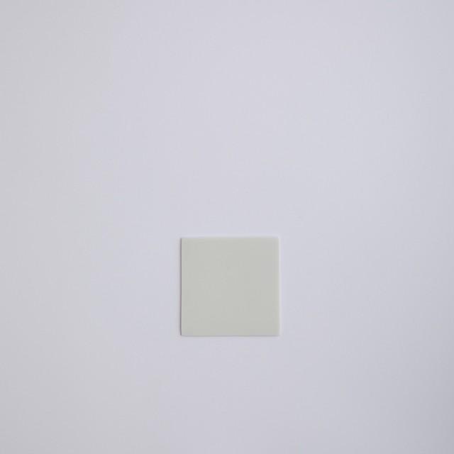 Blanc / square plate 12