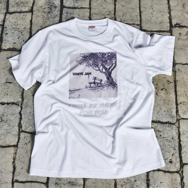 "T-Shirt ""9"" -White-(再々販売 9月末〜10月発送予定)"