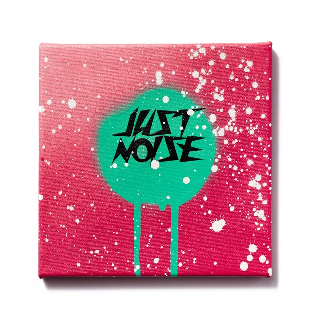 JUST A LITTLE NOISE - PINK/GREEN