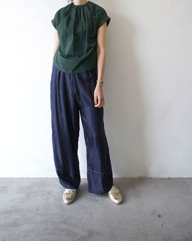 ZEBRA JACGARD WIDE PANTS / FILL THE BILL