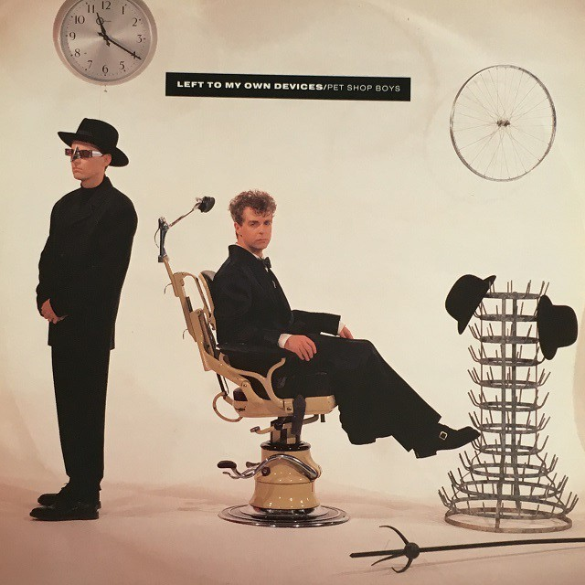 【12inch・英盤】Pet Shop Boys / Left To My Own Devices(The Disco Mix)