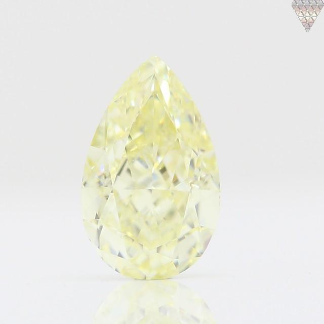 0.65 ct Y-Z VVS1 PEAR GIA 天然  ダイヤモンド ルース