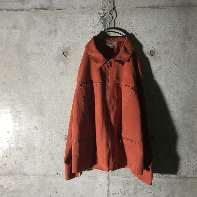 [ used ] rare material drizzler jacket