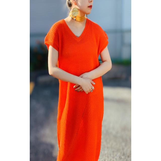 MANIC MONDAYマニックマンデー・インターセクト リブ Dress(0S63009o)