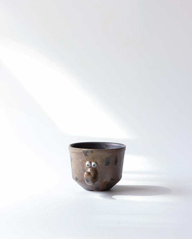 小さな植木鉢(モグラくん)