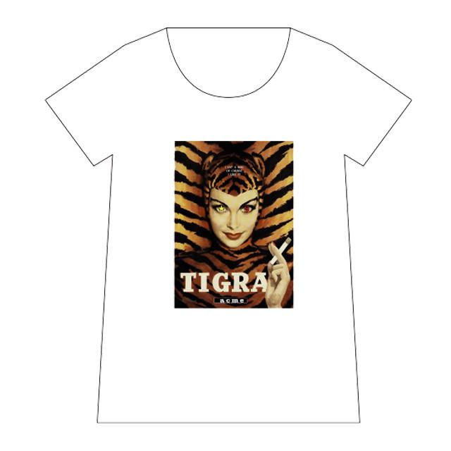 ACME × maxsix コラボデザインTシャツ(白)