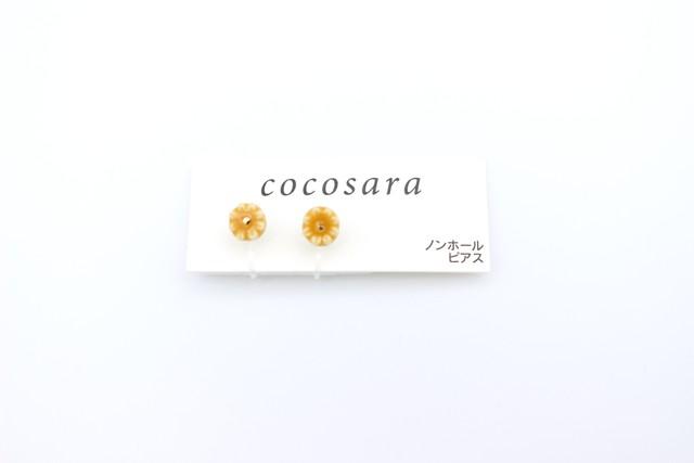 有田焼 ノンホールピアス  flower
