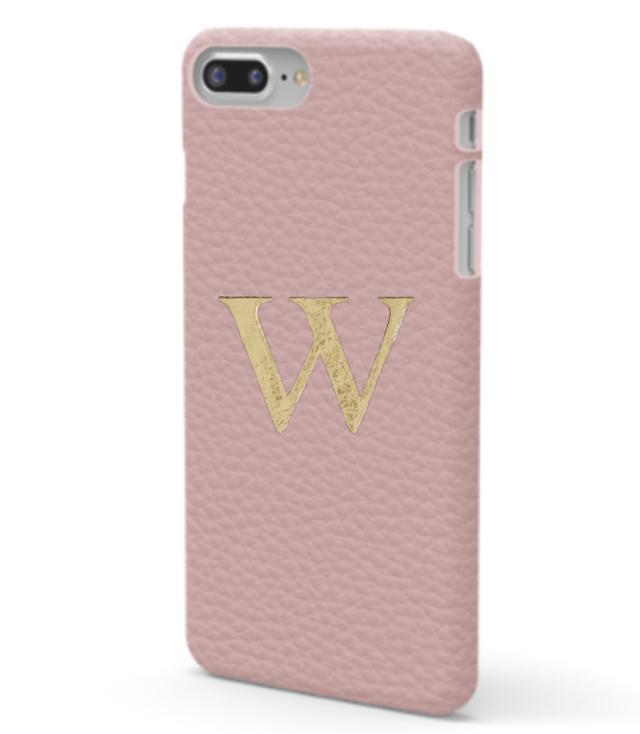 iPhone7/8 Plus Premer Shrink Leather Case (Blush Pink)