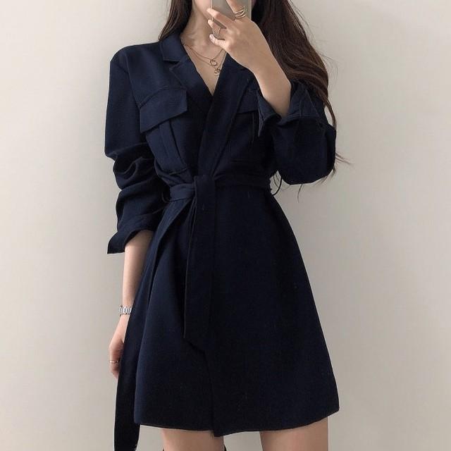 【dress】レトロ合わせやすいお流行りワンピース25109263