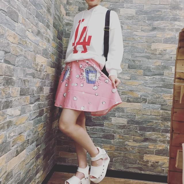 アメリカンポップ★☆スカート【LAトップス】
