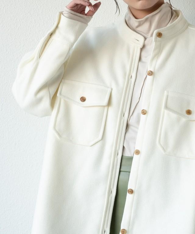 裏キルトメルトンCPOジャケット/IV