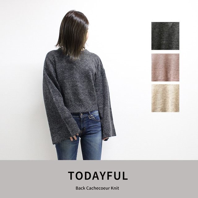 TODAYFUL  | Back Cachecoeur Knit 11820539