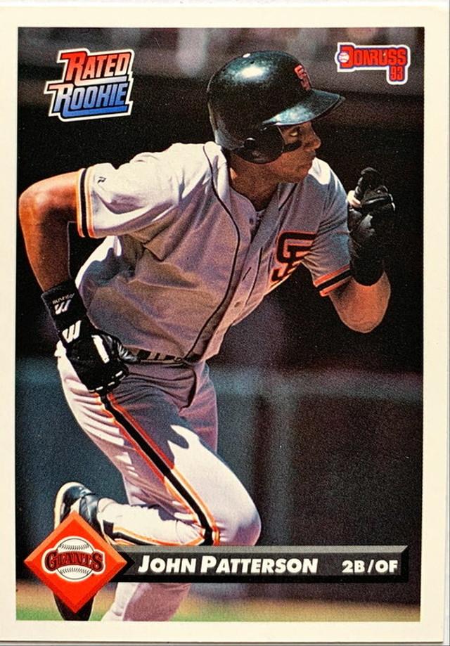 MLBカード 93DONRUSS John Patterson #193 GIANTS