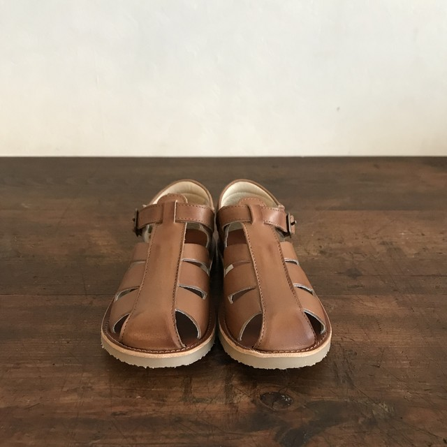Young Soles : FRANKIE FISHERMAN SANDAL (Tan)