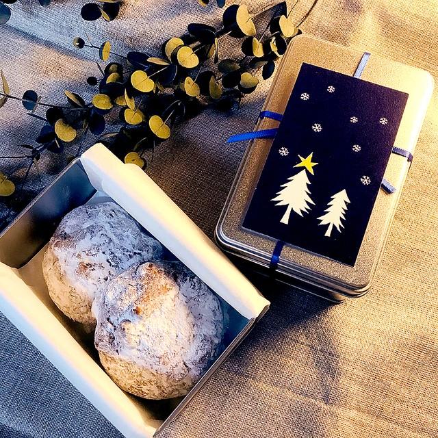 クリスマスギフト缶(ミニシュトーレン2個入り)