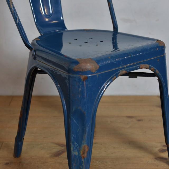 Iron Chair / アイアン チェア 【B】 〈インダストリアル・ガーデニング・ダイニングチェア・店舗什器〉