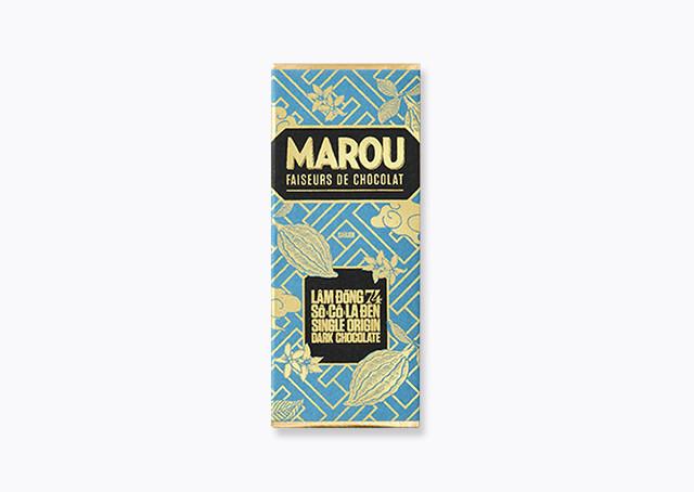 【MAROU】 LAM DONG 74% mini シングル・オリジンチョコレート