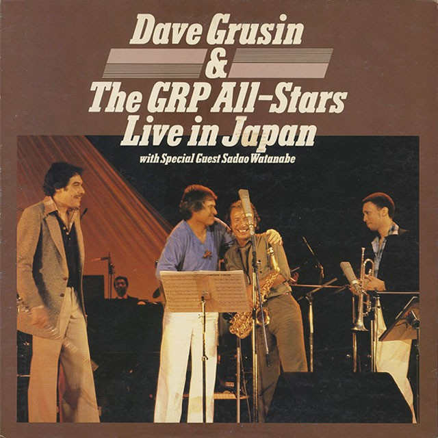 Dave Grusin And The GRP All-Stars ‎/ Live In Japan (LP)