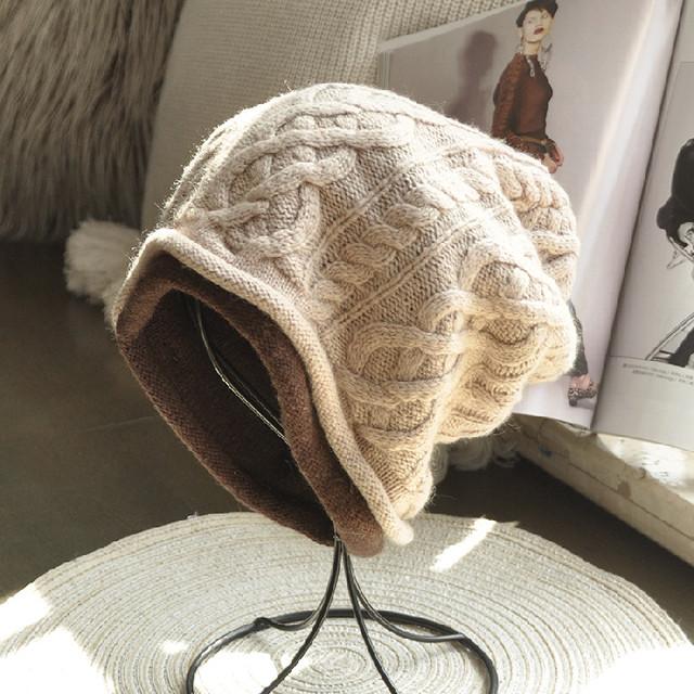 【小物】全16タイプ ファッション 男女問わず 防寒対策 ニット ジャカード 帽子43315050