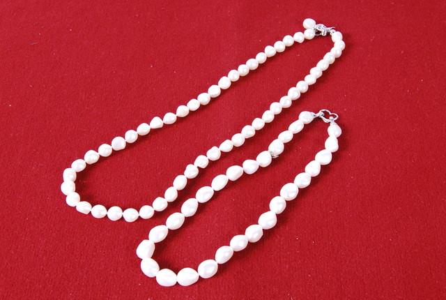 2697 本真珠 ネックレス 2種セット アクセサリー 愛知県岡崎市 直接引取可