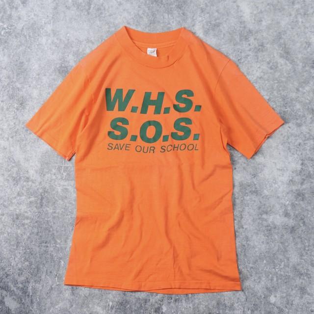 70年代 USA製 Tシャツ SAVE OUR SCHOOL T A196