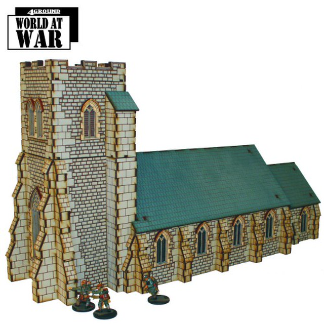 【予約発注】 Parish Church 28S-WAW-140