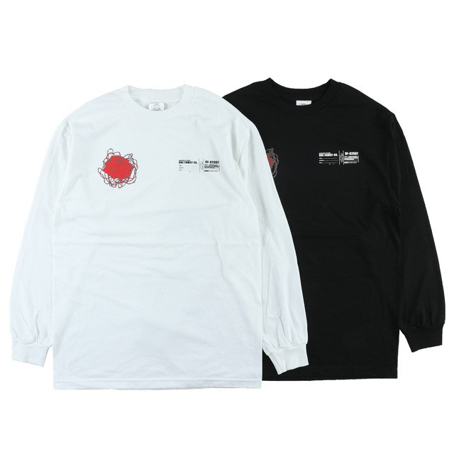 One Family Co. / Long Sleeve T-Shirt / Lily Flower