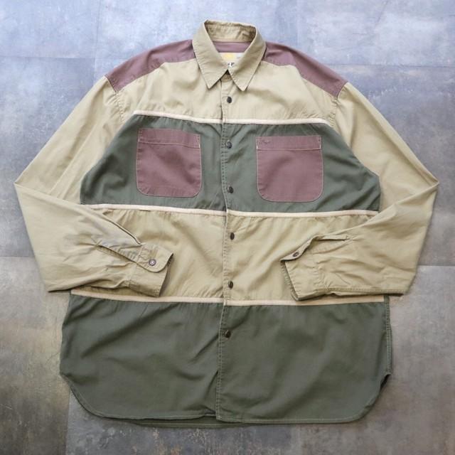 camel  pattern design shirt