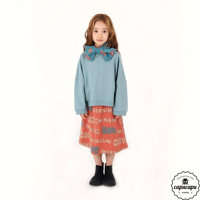 «即納» collar pullover 4colors 襟付きトップス