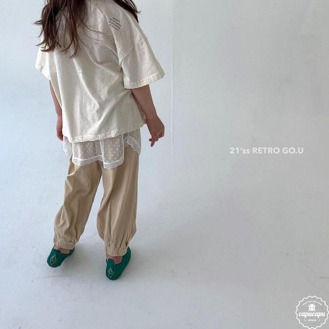 «予約»«ジュニア» go.u retro T shirts レトロTシャツ ジュニアサイズ
