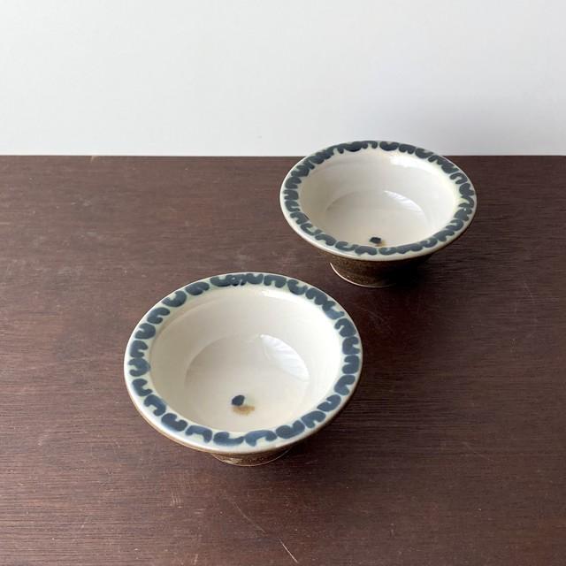 菊文水玉の小鉢 大1