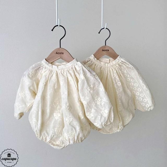 «予約»«bebe» Rachel babysuit 2 types ベビーボディスーツ
