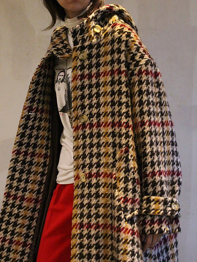 70s  French wool coat