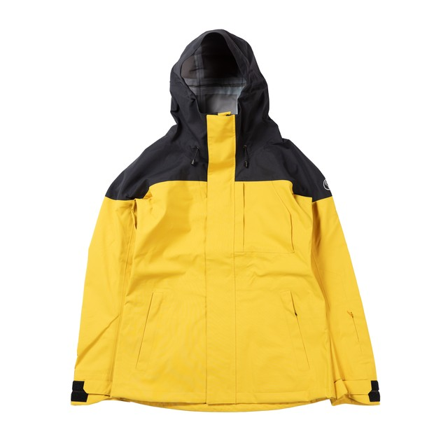 UNFUDGE SNOW WEAR 2018 / PEEP JACKET / YELLOW / S