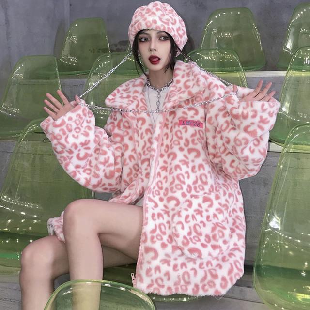 【大魔王シリーズ】★アウター★ ジャケット 厚て 防寒コート 暖か ピンク レディースコート 可愛い ゆったり