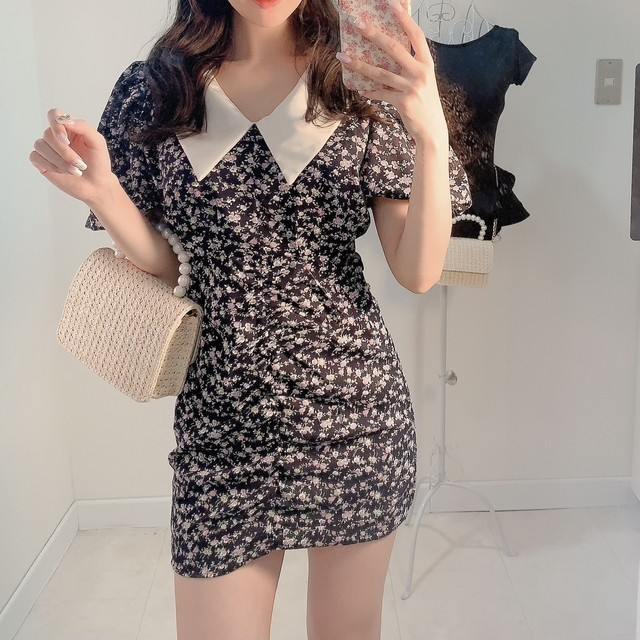 french doll puff one-piece