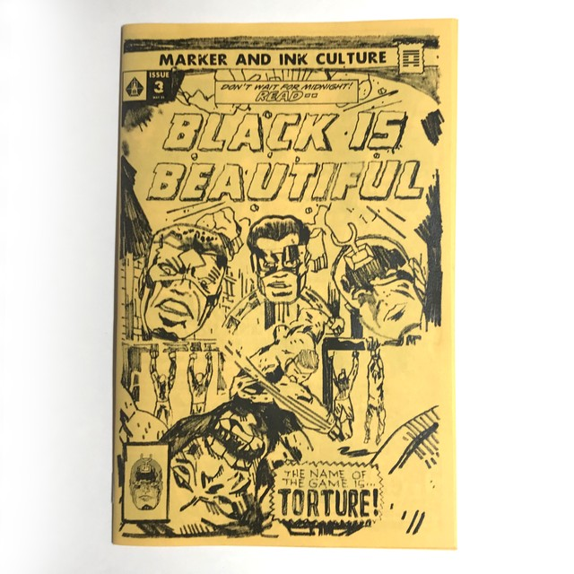 BLACK IS BEAUTIFUL ZINE ISSUE #3
